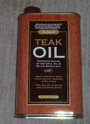 Ronseal Colron Refined Teak Oil - Natural - 500ml • 11.95£