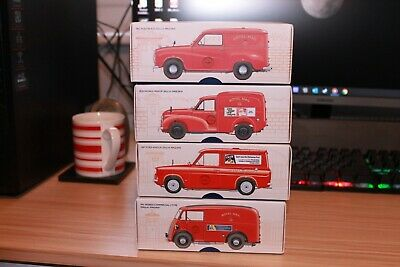 CORGI CLASSICS 1:43 Royal Mail Delivery Vans 4 Boxed Vehicles With Certificates • 54.99£