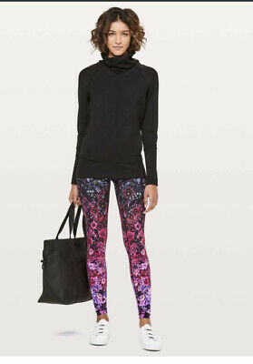 $ CDN189 • Buy Rare Lululemon In Bloom Floral Ombre Wunder Under Leggings High Rise Nulux 8