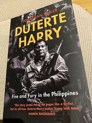AU33 • Buy Duterte Harry: Fire And Fury In The Philippines By Jonathan Miller