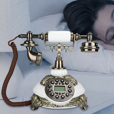 Antique Telephone IDS-8646C Old Fashioned Landline Telephone With Caller ID FSK • 57.07£