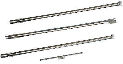$ CDN224.97 • Buy 134D4 Stainless Steel Burner Set For Weber Gas Grill 13 3/16 12 3/4