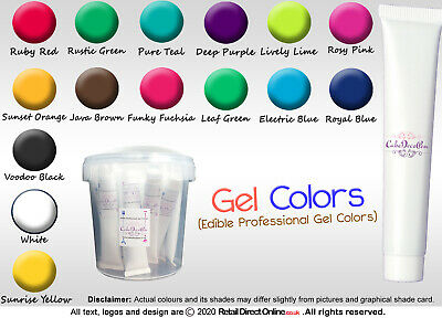 Gel Food Colour Edible Concentrated ProGel Cake Decorating Craft | 30 ML • 1.89£