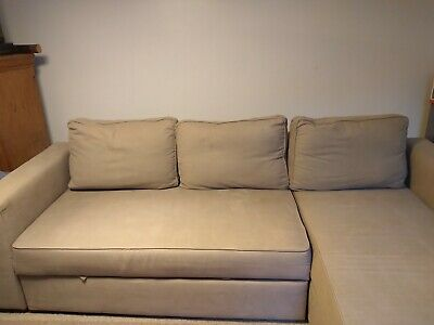 Sofa Bed Chair Olive Green (Smoke And Pet Free Home) • 220£