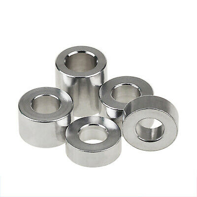 £4.64 • Buy M3 Aluminum Alloy Female Standoff Collar Spacers Color Round Washers Sleeve