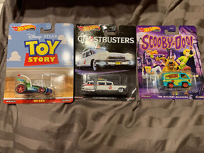 Hot Wheels - SCOOBY-DOO -  Ecto 1 And Toy Story Real Riders Lot • 20.02£