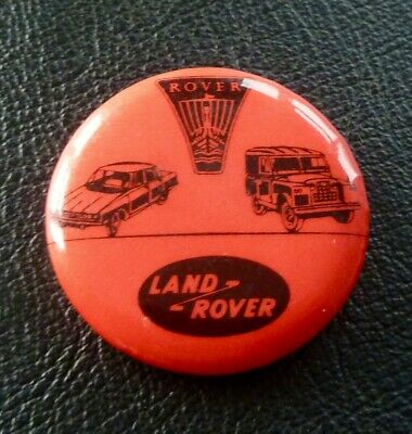 Vintage  Rover / Land Rover Tin Advertising Lapel Pin Badge  - British Leyland • 5.99£