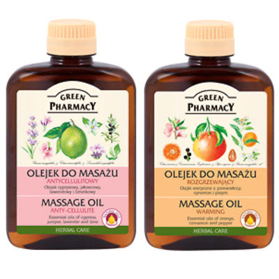 Green Pharmacy Warming Massage Oil Anti-cellulite 200ml • 7.19£