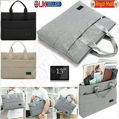 13  Inch Hand Case Sleeve Bag For Laptop Apple MacBook Lenovo ASUS DELL  • 9.39£