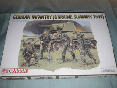 Dragon German Infantry Ukraine Summer 1943 Battleground Soldiers Model Kit 1/35 • 16.99£
