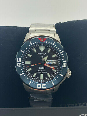 $ CDN362.92 • Buy New Seiko Prospex Padi Monster Divers 200M Men's Watch SRPE27