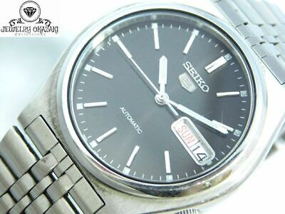 $ CDN125.07 • Buy Seiko 5 Five 7s26-3170 Automatic Day-date Silver Men's Vintage Watch Japan