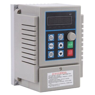 £65.09 • Buy 0.75kW Single To 3 Phase VFD Variable Frequency Drive Inverter Speed Converter