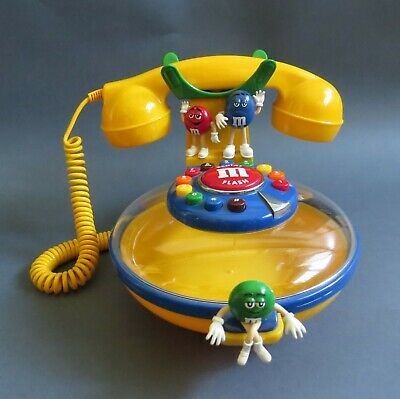 $34.99 • Buy M&M Telephone With RED, BLUE And GREEN