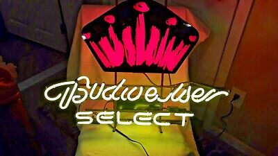 $ CDN385.09 • Buy Vintage  Budweiser Select  Neon Light Up Beer Sign