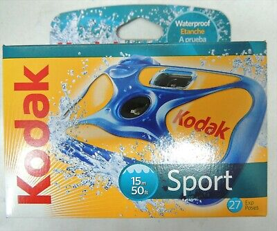 £25 • Buy Brand New Kodak Sport/underwater Waterproof Daylight Disposable Film Cameras X 3