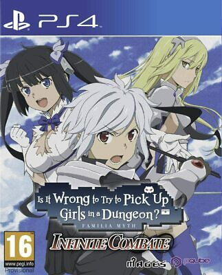 Is It Wrong To Try To Pick Up Girls In A Dungeon? Infinite Combate For PS4 (New) • 17.99£