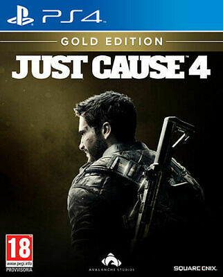 £13.49 • Buy Just Cause 4 Gold Edition PS4 (Italian Case, English Gameplay) - New And Sealed
