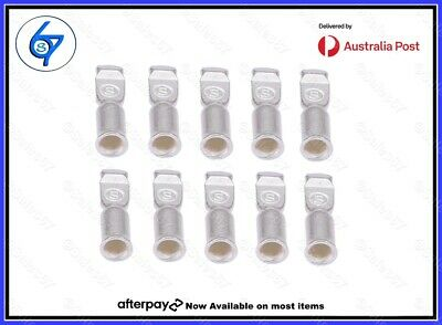 AU13.90 • Buy 10 X Anderson Plug Contacts Pins Lugs Terminals (S&D) For 50 Amp Connectors 8AWG