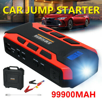 AU52.19 • Buy 12V 99900mAh Vehicle Jump Starter 800A Car Battery Charger Booster Power Bank AU