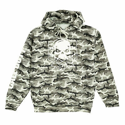 £50.99 • Buy Mens Call Of Duty Pullover Hoodie Camo Skull Logo Official Merchandise