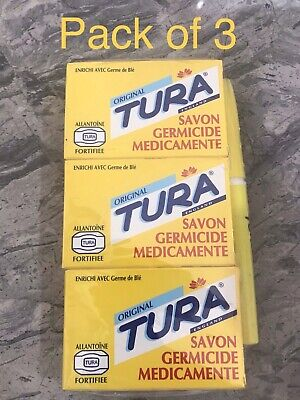 £6.99 • Buy Tura Germicidal Medicated Soap 65g .pack Of 3.