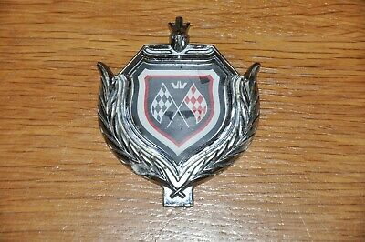 £20 • Buy Red And Black Chequered Flag Metal Badge, Possibly For Car