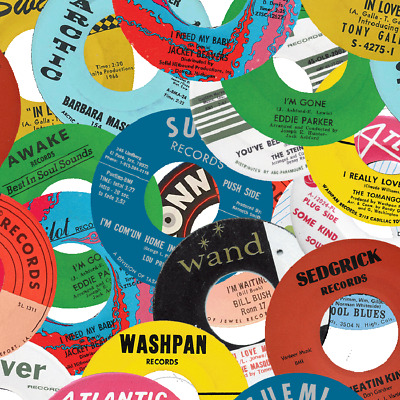 £0.99 • Buy Repro Record Label Stickers ~ Northern Soul ~ Classics & Rarities