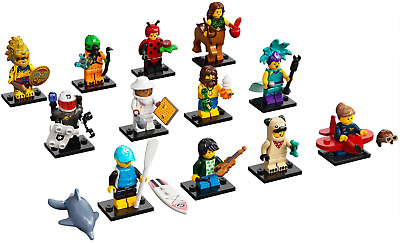 Brand New Lego 71029 Minifigure Series 21 Complete Set X 12 (sealed/resealed) • 48.95£