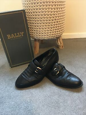 Bally Single Monk Buckle Shoes For Men Size 9 • 59£