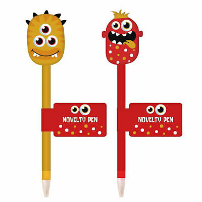 £2.49 • Buy Monster Pen Single - Assorted Funny Cute Kids Children Stationery School Scary