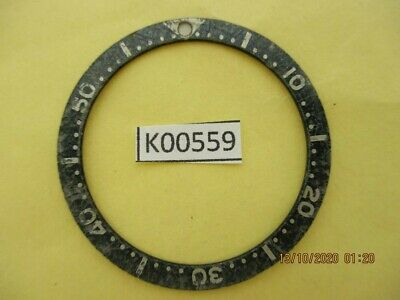 $ CDN18.75 • Buy Vintage Ghosted Seiko Bezel Insert Skx007 7002 6309 7040 7290 Dive Watch K00559