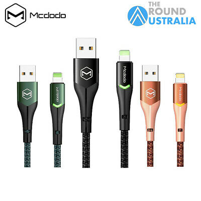 AU10.99 • Buy MCDODO Braided USB Fast Charger Charging Cable Sync Data Cord Fr IPhone IPad IOS