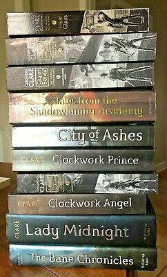 MORTAL INSTRUMENTS 1-5 Infernal Devices Cassandra Clare Lot 10 Shadowhunters • 54.26£
