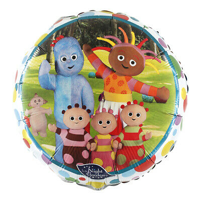 In The Night Garden Licensed 18  Round Foil Balloon - Iggle Piggle • 2.99£