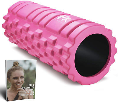 AU37.31 • Buy FX FFEXS Foam Roller For Deep Tissue Muscle Massage Trigger Point Muscles