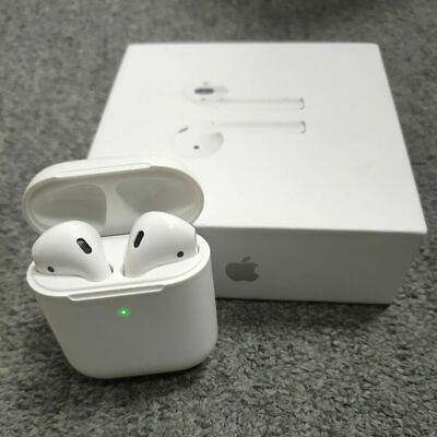 AU79.99 • Buy Apple AirPods 2nd Generation Wireless Headphones Earbuds With Charging Case