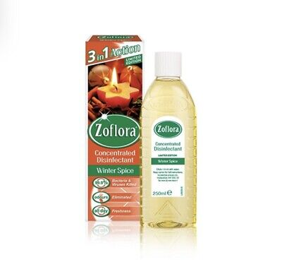 Zoflora Winter Spice 250ml X1- 3 In 1 Action Concentrated Disinfectant • 6.50£