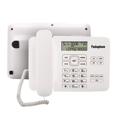 Corded Telephone With FSK/DTMF Dual System Caller ID LCD Display Landline Office • 16.59£
