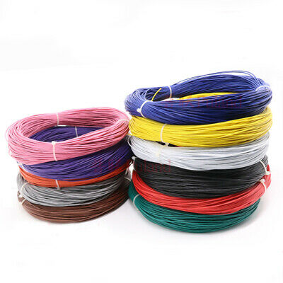 £1.70 • Buy 16~30AWG Black Electronic Wire UL1007 Flexible Stranded Cable Cord Tin Copper