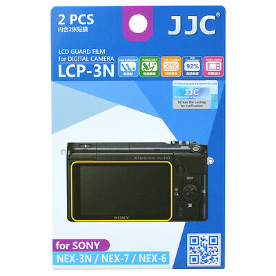 AU8.60 • Buy JJC LCP-3N Film Camera LCD Screen Protector For Sony NEX 3N/7/6/A5000/A6000