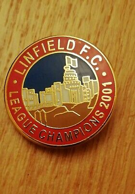 £2.99 • Buy Linfield Pin Badge Very Collectable.