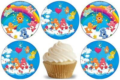 £4.49 • Buy Care Bears Edible Cake Topper Wafer Paper Birthday Party Deco New Muffin