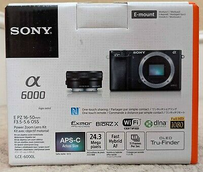 $ CDN733.63 • Buy Sony - Alpha A6000 Mirrorless Camera With 16-50mm Retractable Lens - Gray