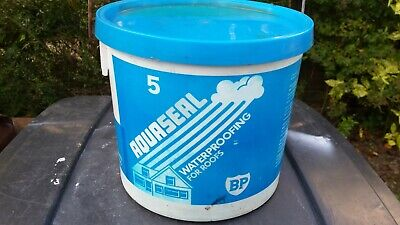BP Aquaseal Waterproof Sealant For Roofs And Gutters Black 5L • 10£