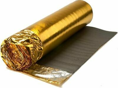 ** 7.5m2 Roll - Sonic Gold 5mm - Acoustic Underlay For Wood Or Laminate Flooring • 91.99£