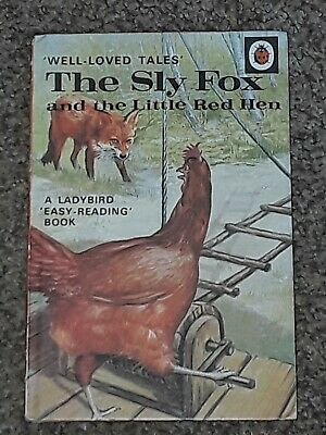 Vintage Ladybird Book Wlt The Sly Fox & The Little Red Hen  606d  • 4.95£