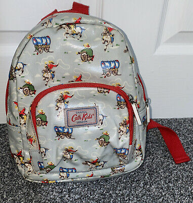 £12.99 • Buy Cath Kidston Boys Girls Rucksack Bag Cowboys Cream With Red Straps Discontinued