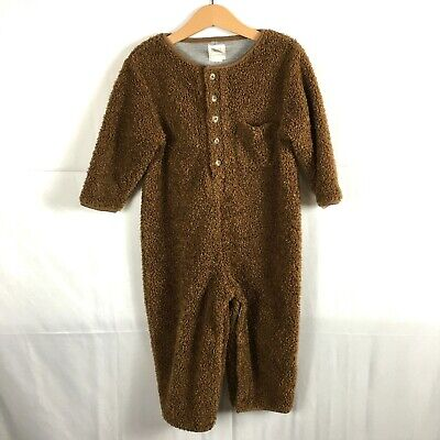 Baby GAP Brown Bear Suit Size 3xl One-Piece Sherpa Bunting  • 11.15£