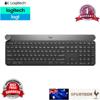 AU269 • Buy Logitech Craft Advanced Wireless Keyboard W Creative Input Dial Backlit Keys TS